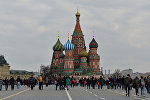 Покровский собор (храм Василия Блаженного) на Красной площади в Москве