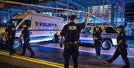 Полицейские в Нью-Йорке, фото из архива