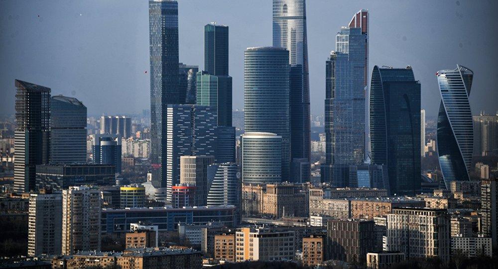 Небоскребы Московского международного делового центра Москва-Сити