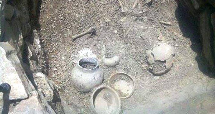 Antik-erkən orta əsrlər dövrünə aid nekropol
