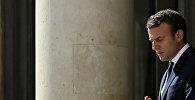 Лидер политической структуры Вперед Эммануэль Макрон, фото из архива