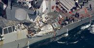 Инцидент с эсминцем США у берегов Японии