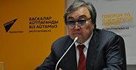Казахстанский поэт Олжас Сулейменов