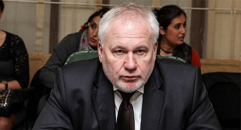 Российский сопредседатель Минской группы ОБСЕ Игорь Попов