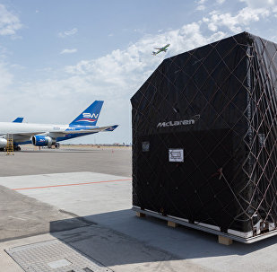 В Международный аэропорт Гейдар Алиев в Баку начали доставляться грузы в рамках проведения Гран-при Азербайджана Формула-1