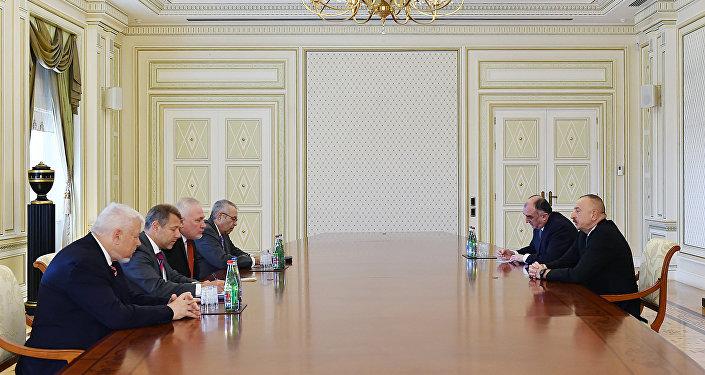 Ильхам Алиев принял сопредседателей Минской группы ОБСЕ