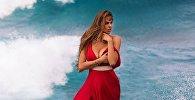Rusiyalı məşhur model Viktoriya Odintsova