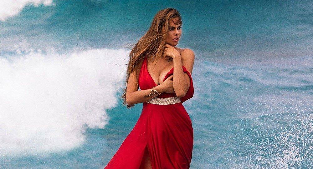 Российская модель Виктория Одинцова