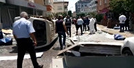 İstanbulun Maltepe rayonunda partlayış