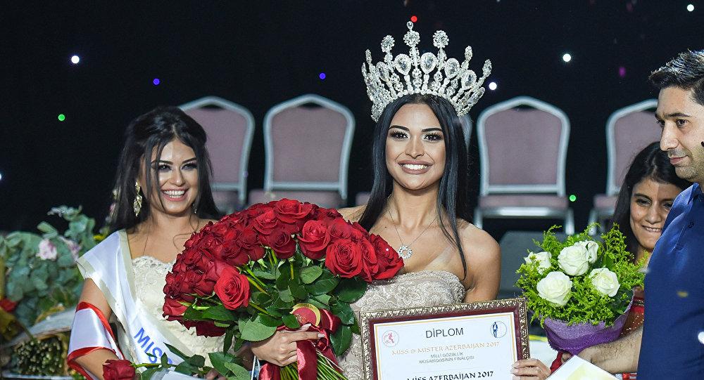 Мисс Азербайджан-2017 Разият Алиева