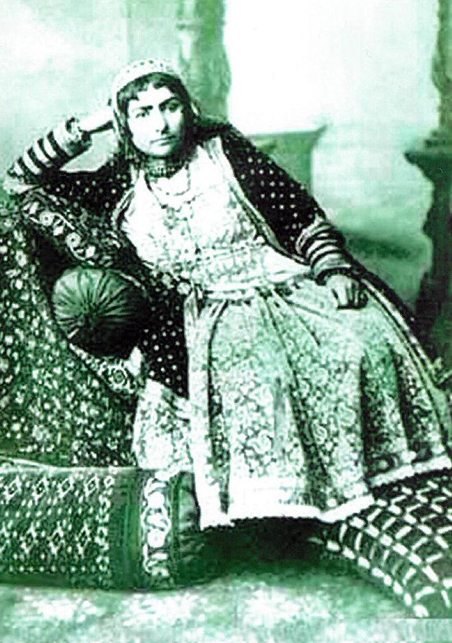 Жена Агамусы Нагиева Умма-Сальма