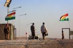 Беженцы в городе Синджар на севере Ирака
