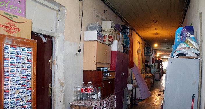 Nərimanov rayonu Mayakovski küçəsi 8/9 ünvanında yerləşən yataqxanadakı vəziyyət