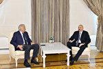 Президент Ильхам Алиев принял бывшего премьер-министра Франции Доминик де Вильпен