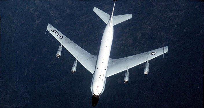 US RC-135 kəşfiyyat təyyarəsi