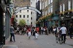 Londonun Karnabis-siti küçəsi, arxiv şəkli