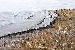 Загрязненный морской берег, фото из архива