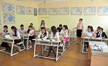 Учебный процесс в одной из региональных школ, фото из архива
