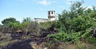 Городская мечеть Шабрана, на территории которой произошел пожар