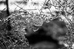 Разбитое стекло, фото из архива