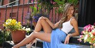 Российская модель Галинка Миргаева