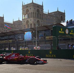 Квалификационный этап Гран-при Азербайджана Формулы-1