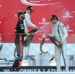 Формула-1 в Баку: тройка победителей