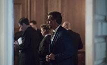 Сенаторы в здании Конгресса США на Капитолийском холме в Вашингтоне