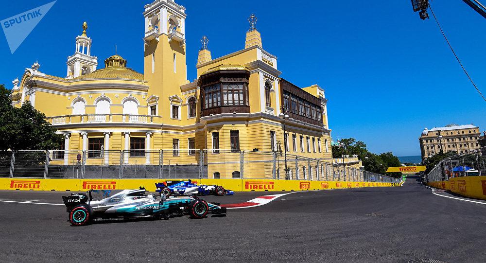Гран-при Азербайджана Формула-1, архивное фото