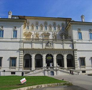 """Romanın """"Villa Borghese"""" parkı"""