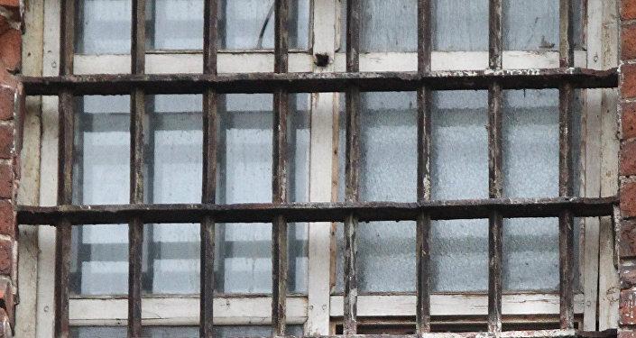 Окно тюремной камеры, фото из архива