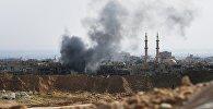 Обстрел позиций ИГ в Дейр-эз-Зоре, фото из архива