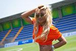 Бывшая участница интернет-конкурса Miss Lafarella Гюнель Мирзоева