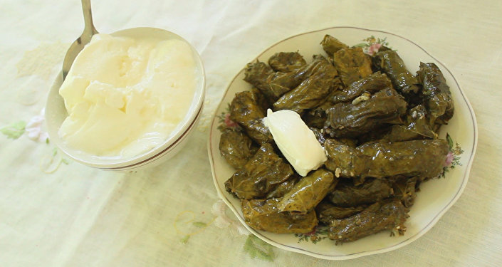 Рецепт еще одной азербайджанской долмы - без мяса