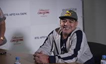 Argentinalı futbol ulduzu Dieqo Maradona, arxiv şəkli