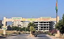 Türkiyə sərhəddindən Afrin şəhərinə giriş