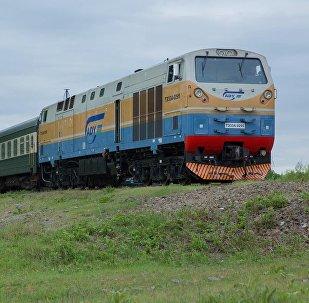 Поезд Азербайджанских железных дорог
