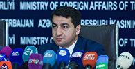 Глава пресс-службы министерства иностранных дел АР Хикмет Гаджиев