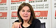 Французский сенатор Натали Гуле