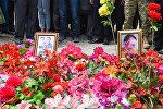 Могилы Сахибы Гулиевой и двухлетней Захры