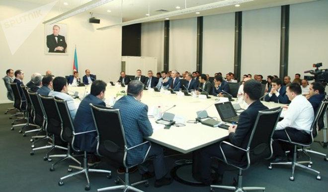 Встреча производителей мебели из Азербайджана и Турции