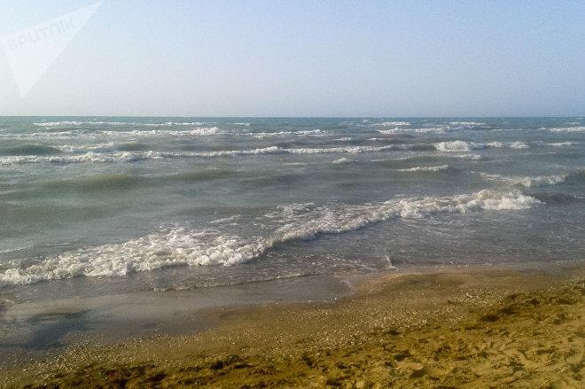 Один из абшеронских пляжей