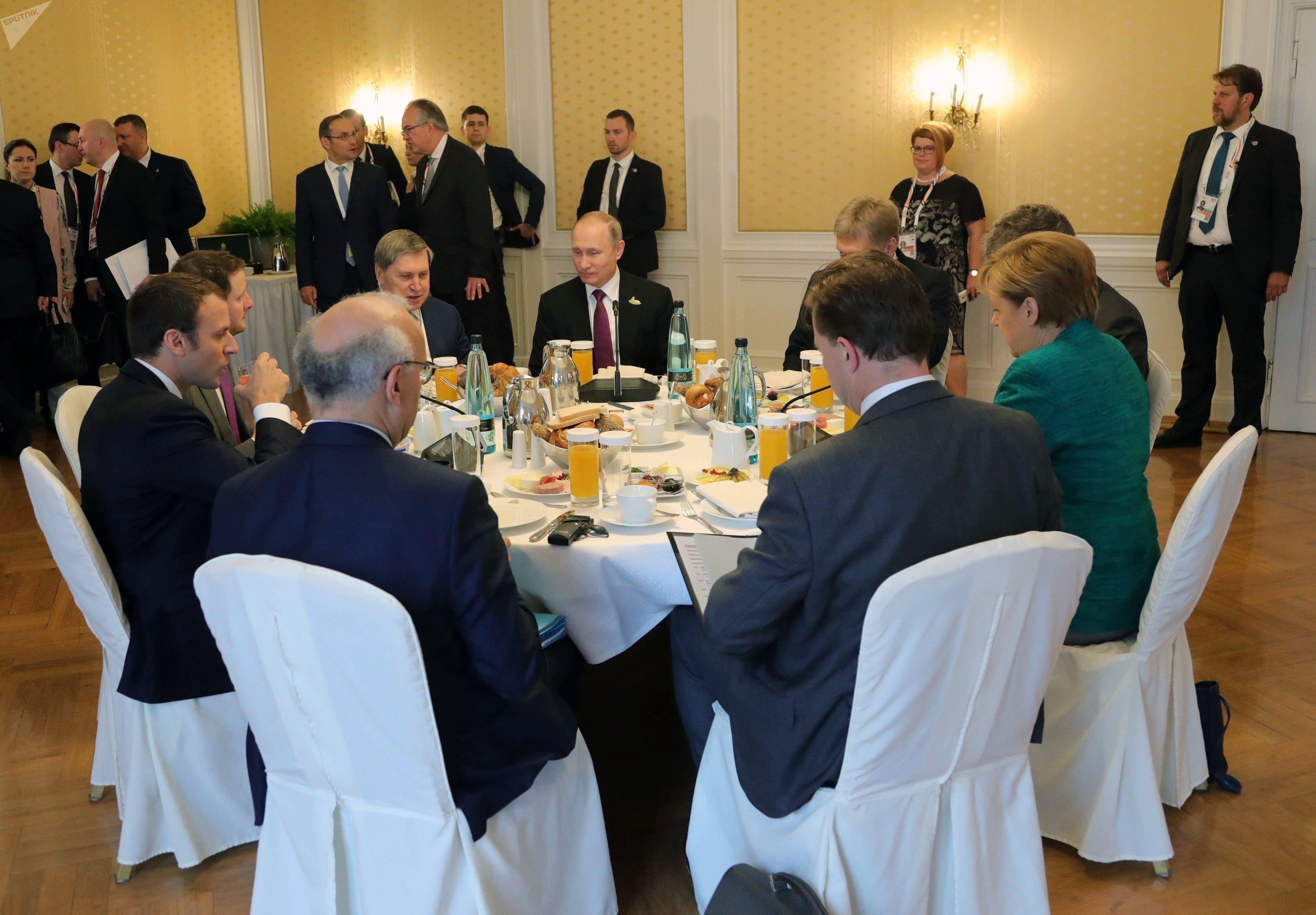 Президент РФ Владимир Путин принимает участие в саммите Группы двадцати в Гамбурге