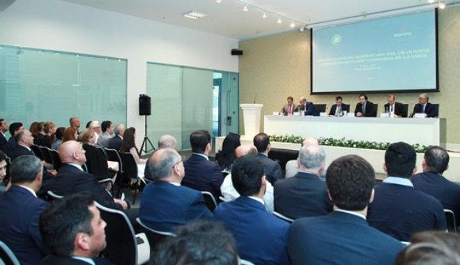 Заседание Клуба экспортеров в Бакинском бизнес-центре