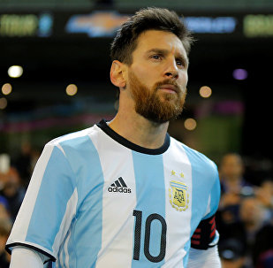 Игрок сборной Аргентины Лионель Месси, фото из архива