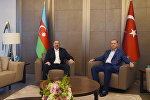 Встреча президентов Азербайджана и Турции Ильхама Алиева и Реджепа Тайипа Эрдогана, Стамбул, 9 июля 2017 года