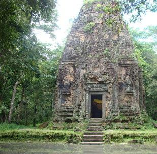 Храмовый комплекс Самбор-Прей-Кук в Камбодже