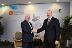 İlham Əliyev və Reks Tillerson