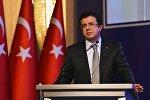 Türkiyənin iqtisadiyyat naziri Nihat Zeybekçi