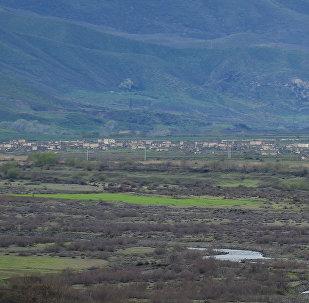 Село в нагорном Карабахе, фото из архива